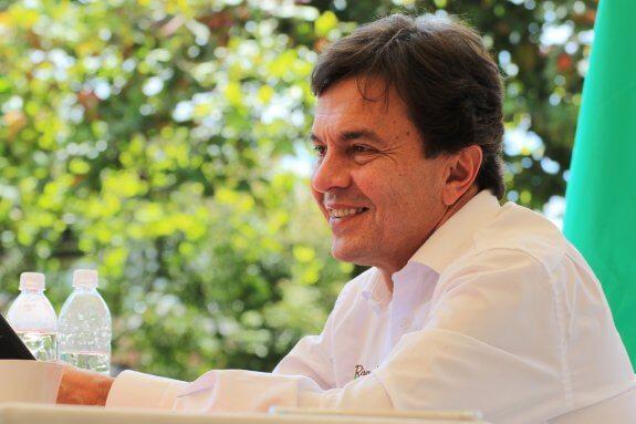 """Roberto Vélez Vallejo se reunió con los representantes de los comités municipales de Risaralda en su espacio """"Conversemos con el Gerente"""""""